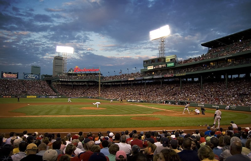 Fenway Park in Boston. Watching a game here must be on your USA Bucket List.