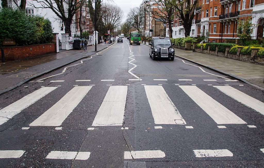 The Abbey Road, made famous by The Beatles. This is one for the London Bucket List.
