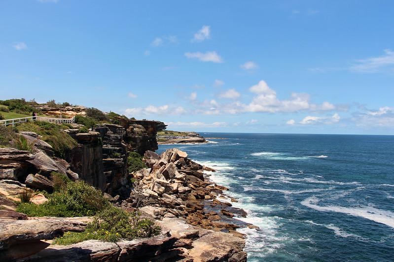 Walking the Bondi to Coogee Coastal Walk is one of the Australian Bucket List.