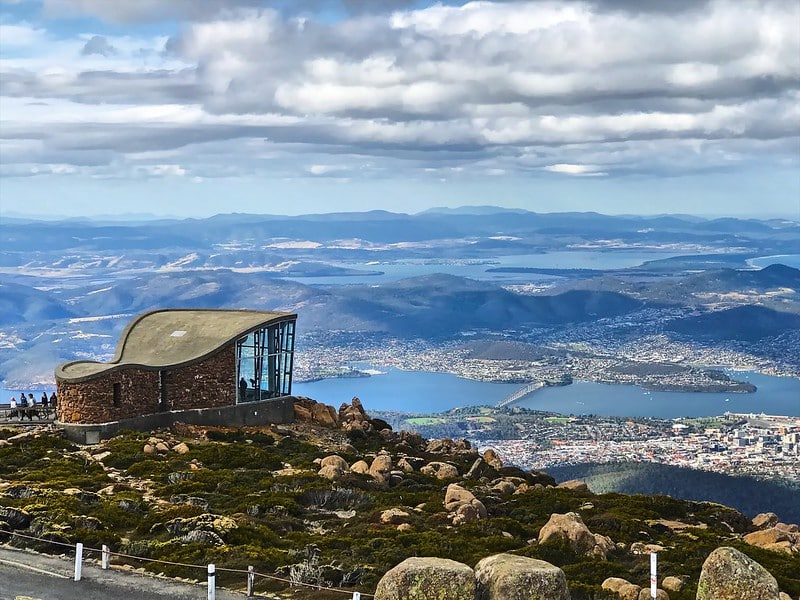 Visiting Mount Wellington is one of the best things to do in Australia.