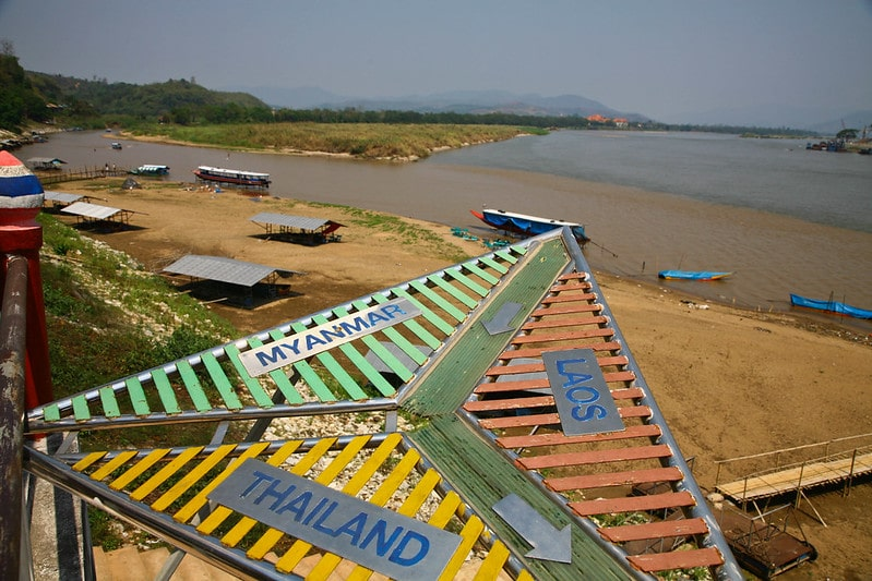 Visiting the Golden Triangle is one of the best things to do on the Thailand Bucket List.