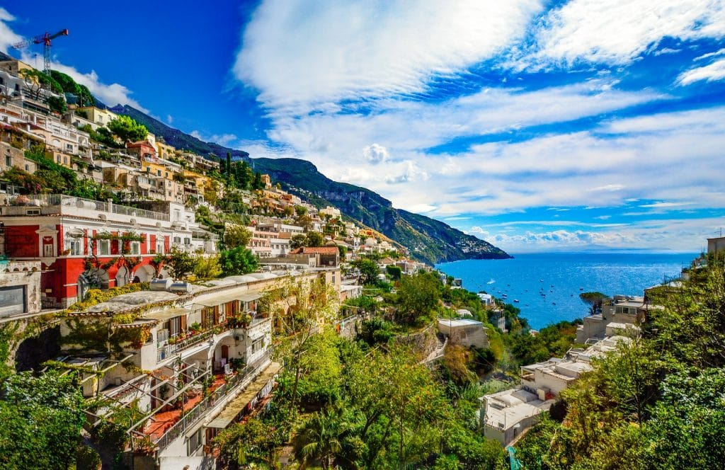Discover the utopia that is Italy's Amalfi Coast – for unmatched views across the Mediterranean.