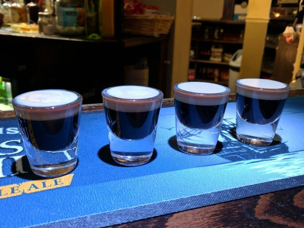 Baby Guinness is one of the most unique and innovative Irish alcoholic drinks.