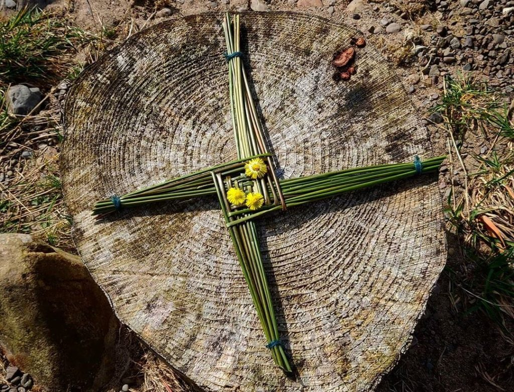 Brigid's Cross – symbol of hope, life and spring