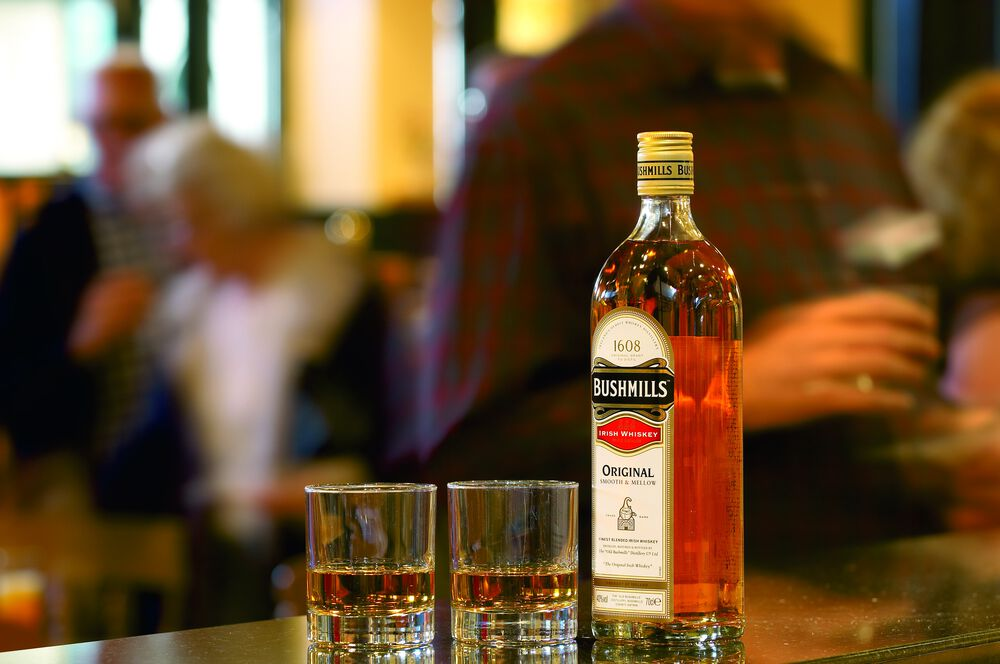 Bushmills – whiskey from Ireland's oldest distillery.