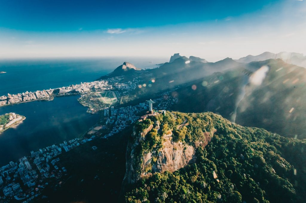 Visiting the Christ the Redeemer statue in Brazil is one of the best bucket list ideas.