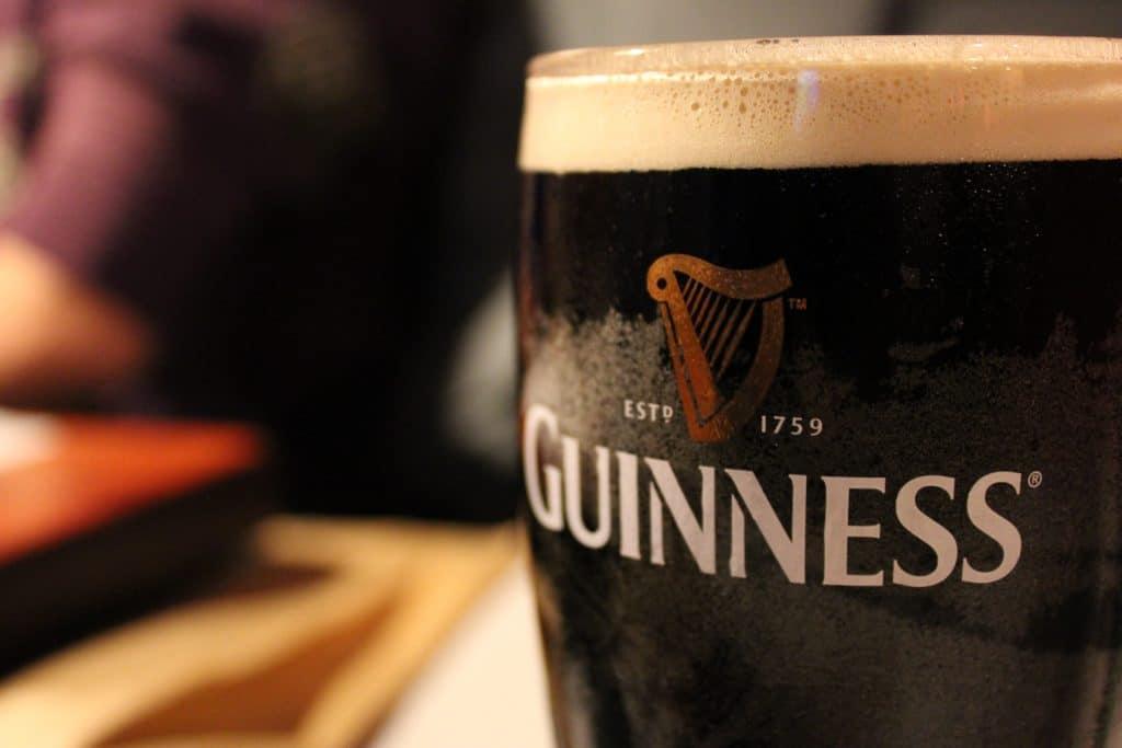 Guinness – the ultimate Irish classic.