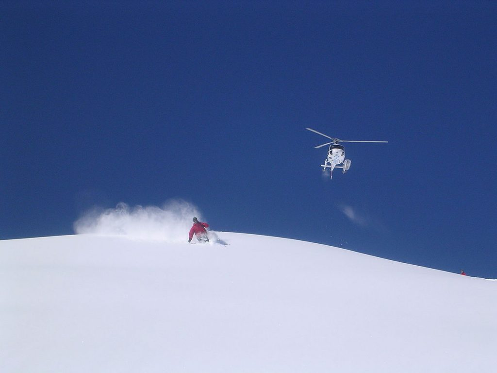 Heli-Skiing – the two-for-one.