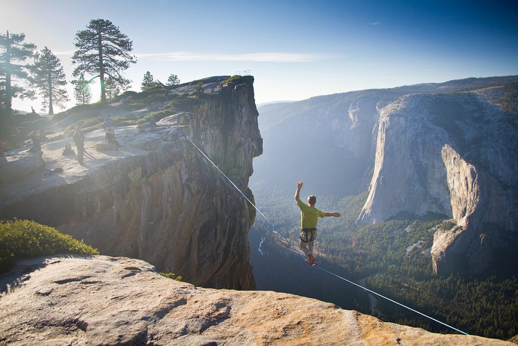 Highlining – for the classic daredevil.