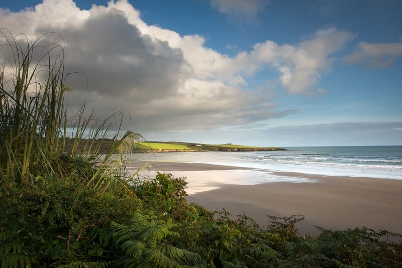 One of the best beaches in Ireland is the Inchydoney Beach, which is located in County Cork.