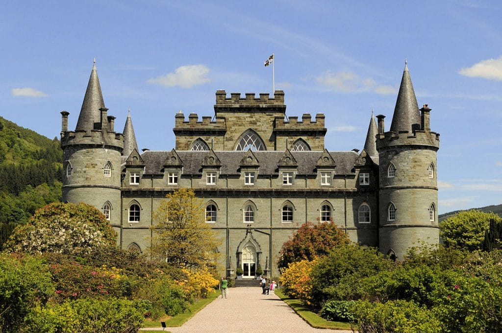 The Inveraray Castle in Argyll is one of the best things to do in Scotland.
