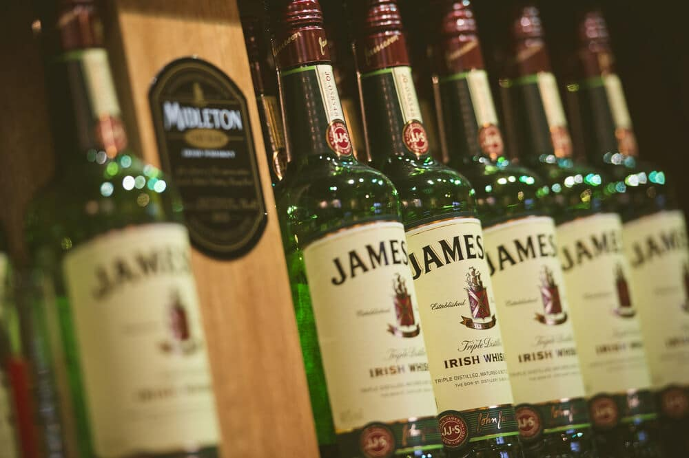 Jameson – Ireland's most famous whiskey.