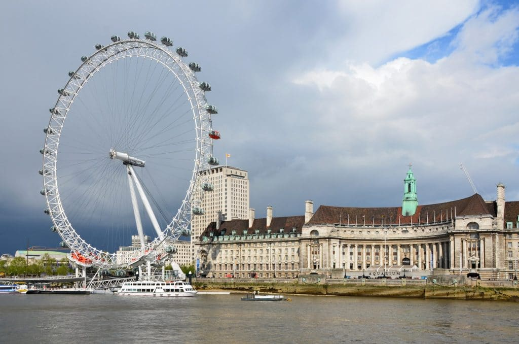 Riding the London Eye is one of the best things to do in the UK.