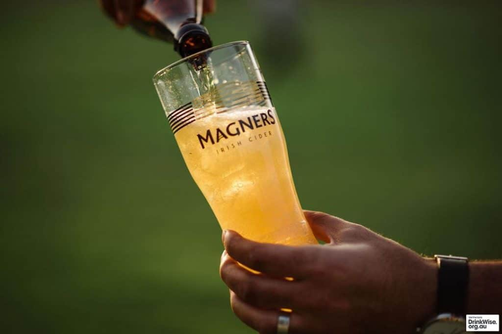 Magners – for a hot summer's day.