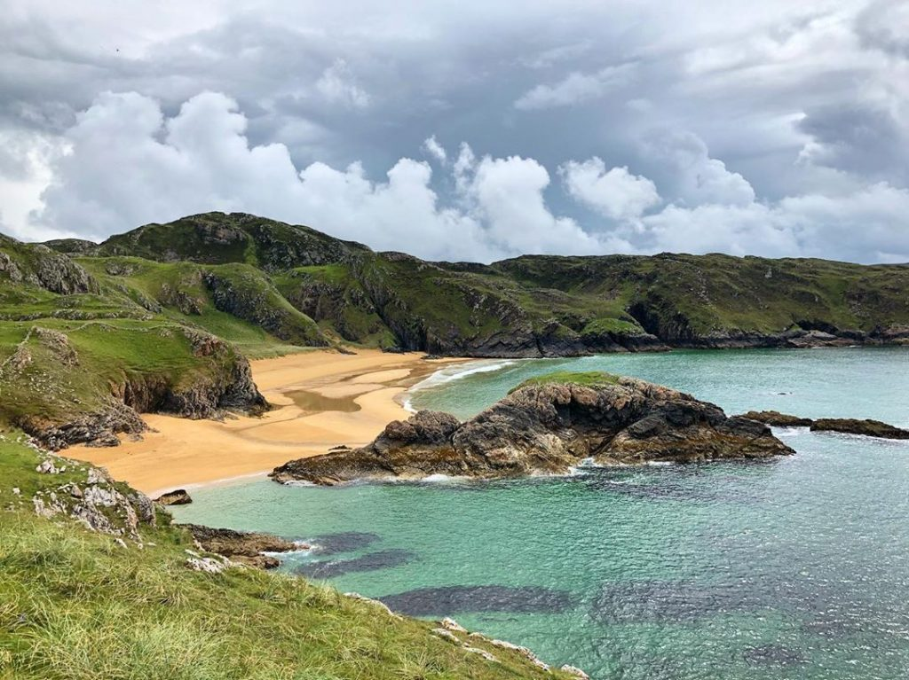 Murder Hole Beach in Donegal, without doubt one of the best beaches in Ireland.