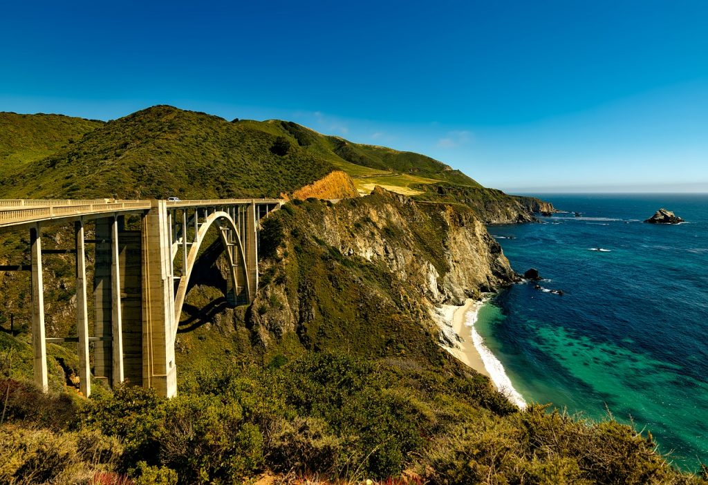 Driving a motorbike along the Pacific Coast Highway is one for the bucket list for summer.