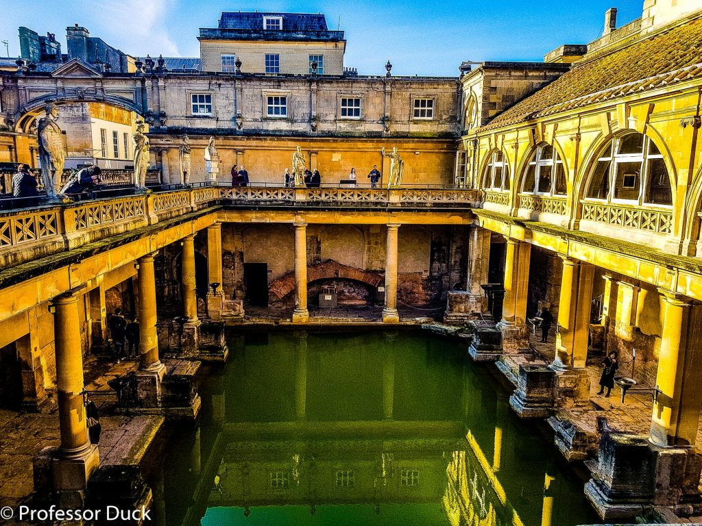 Visiting the Roman Baths in Bath is one of the best things to do on the UK Bucket List.