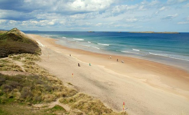 Whiterocks Beach, one of the best beaches in Ireland.
