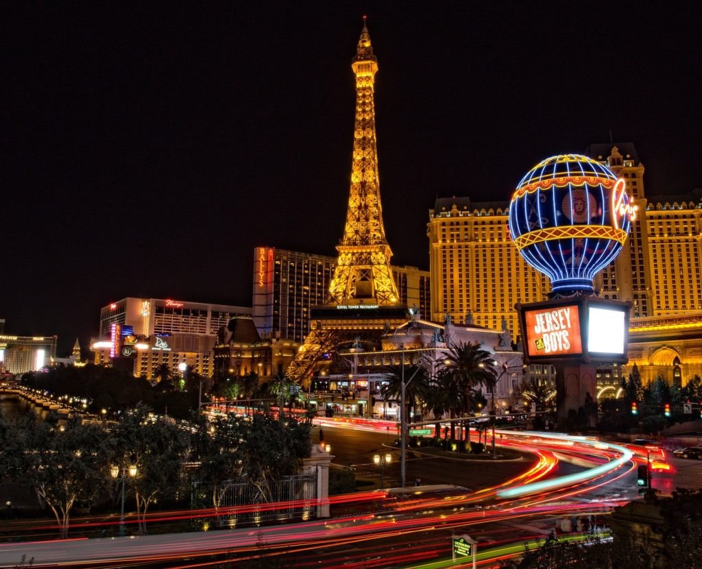 Las Vegas is always picture perfect.