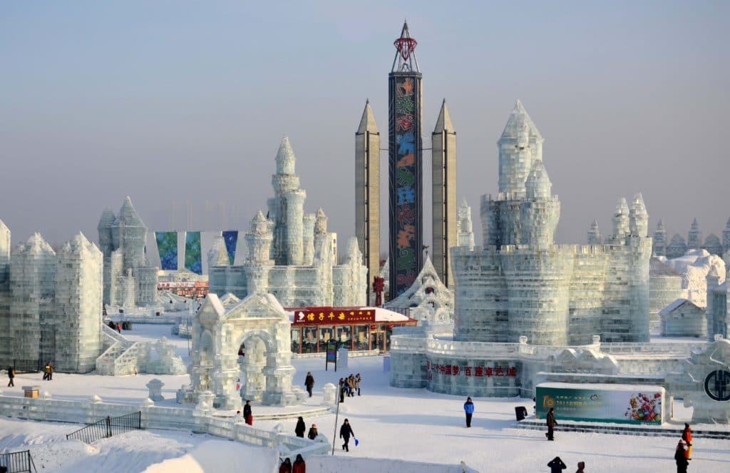 The Harbin Ice Festival is a great event to experience in China.