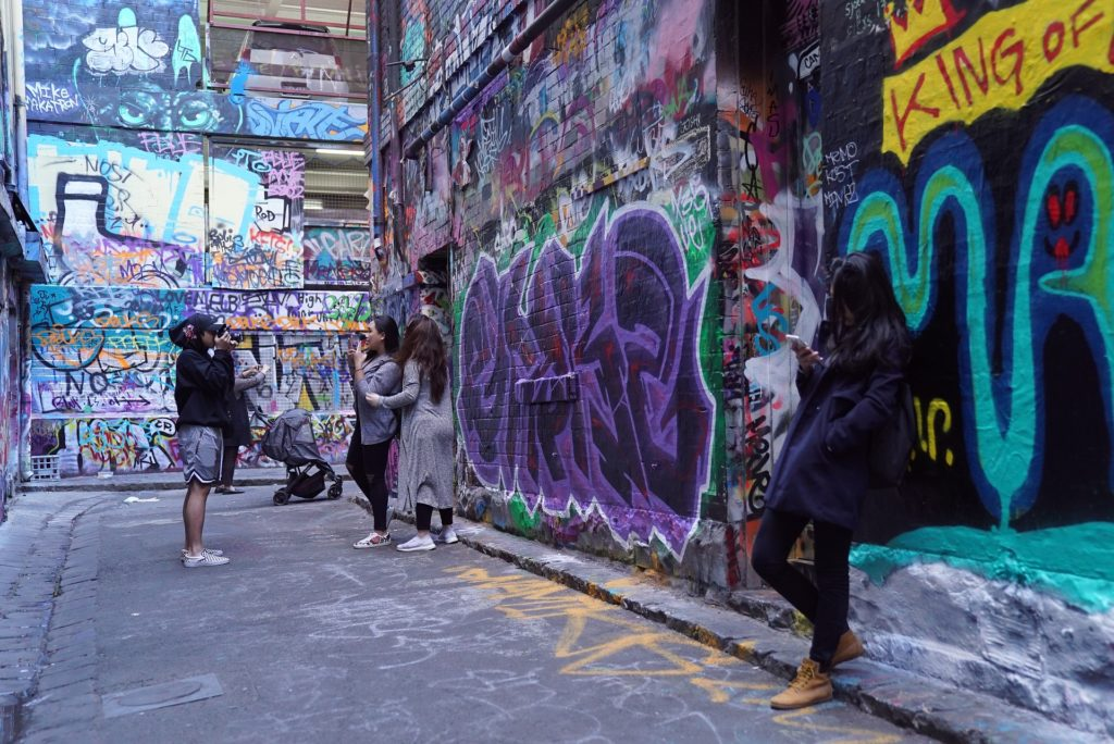 First up is Hosier Lane.
