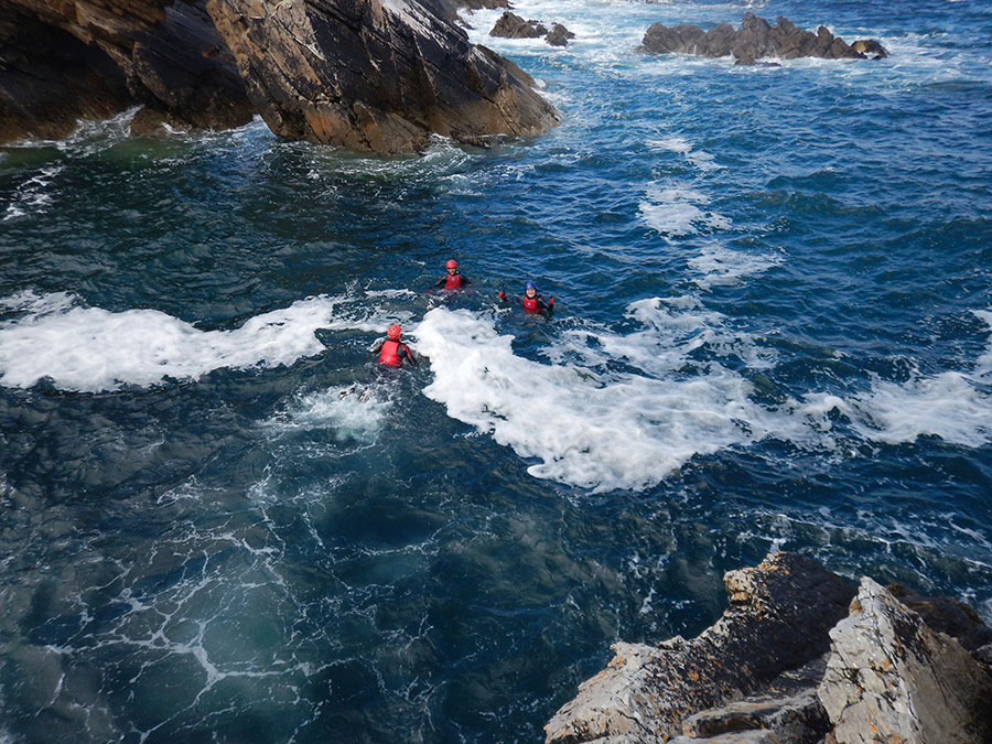 On our Irish adventure bucket list you need to try coasteering in Connemara.