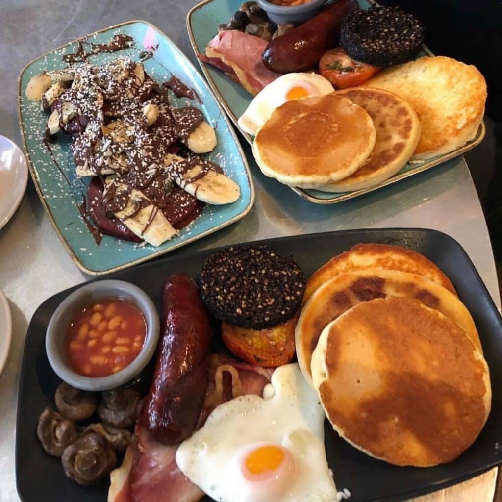 Trying a fry up is a must do if you come visiting.