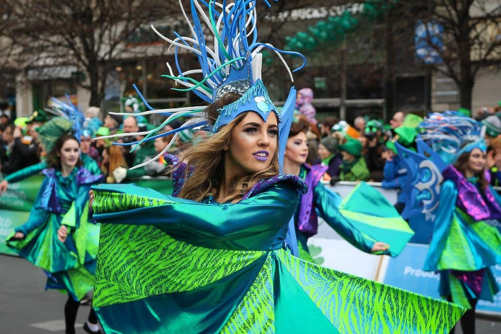 Saint Patrick's Day is one of the top Irish cultural traditions.