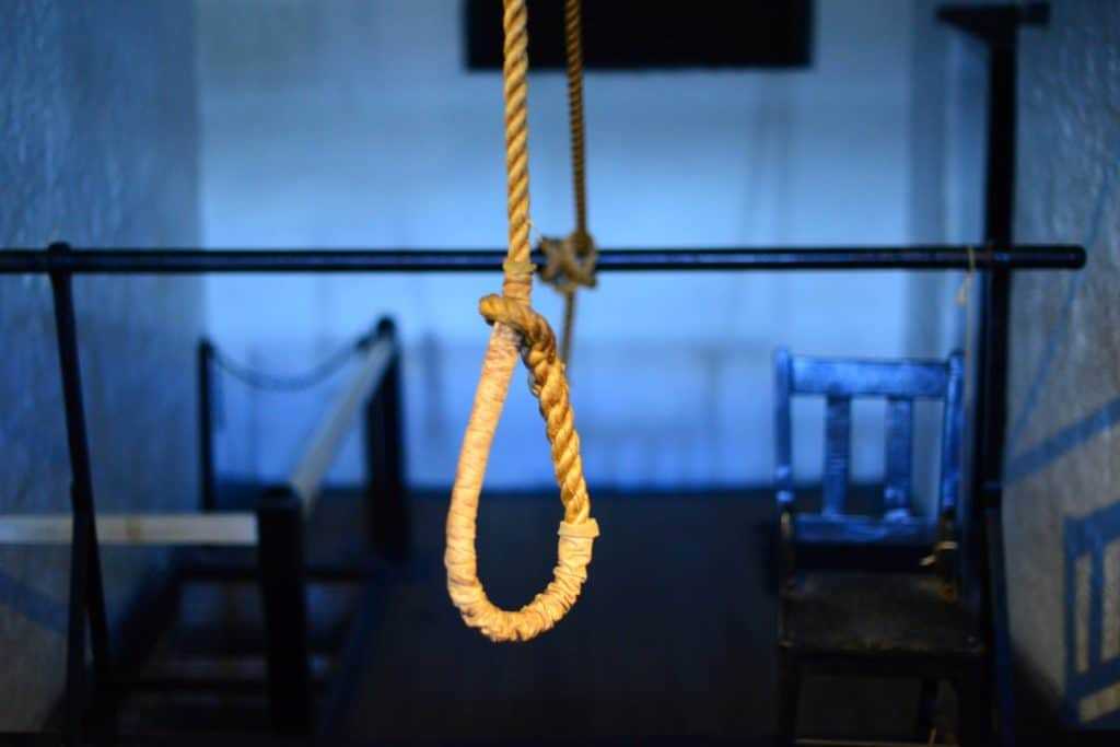 The punishment for suicide is a huge contradiction.