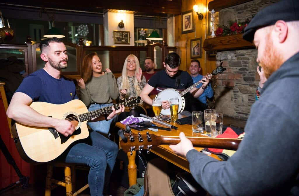 Seeking another of the top Irish cultural traditions, trad music is one of the best.