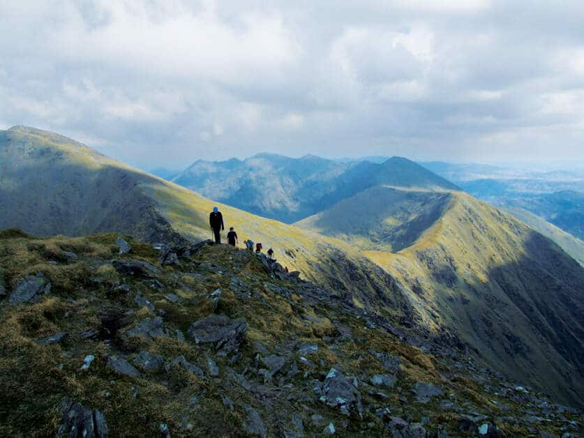 Carrauntoohil hikes are another of the top Irish adventure bucket list picks.