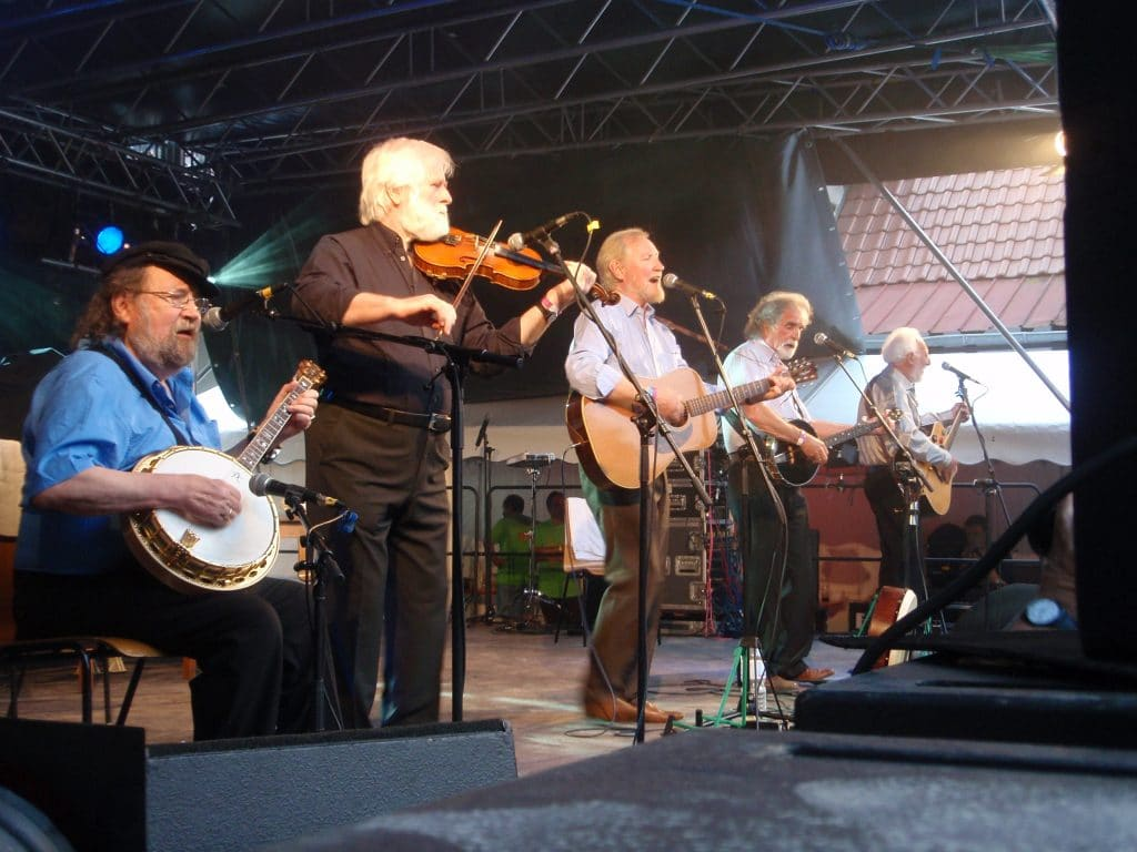 All for Me Grog by The Dubliners.