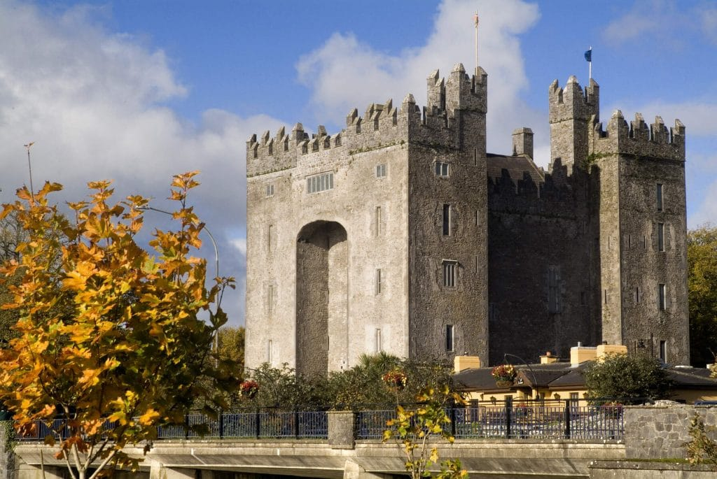 Bunratty Castle is a great spot.