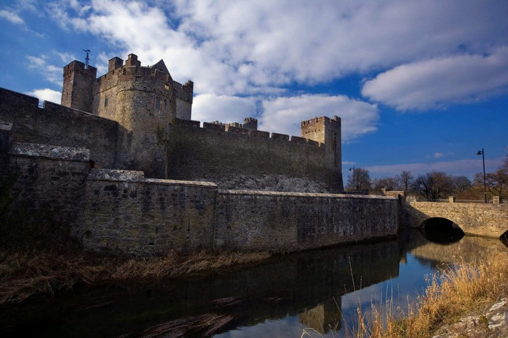 Cahir Castle is one of the best castles in Ireland.