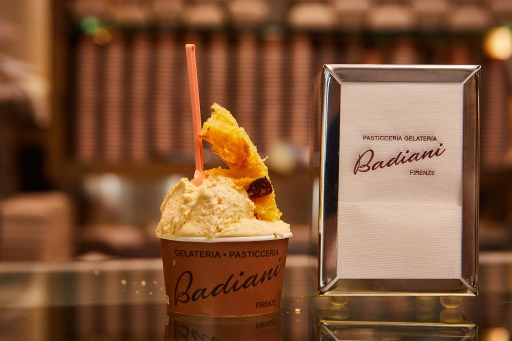 Gelateria Pasticceria Badiana serves some of the best gelato in Florence.
