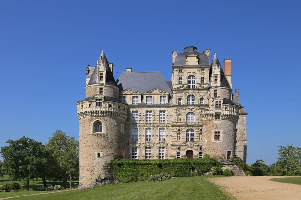 One of the most haunted houses in the world is Château de Brissac.
