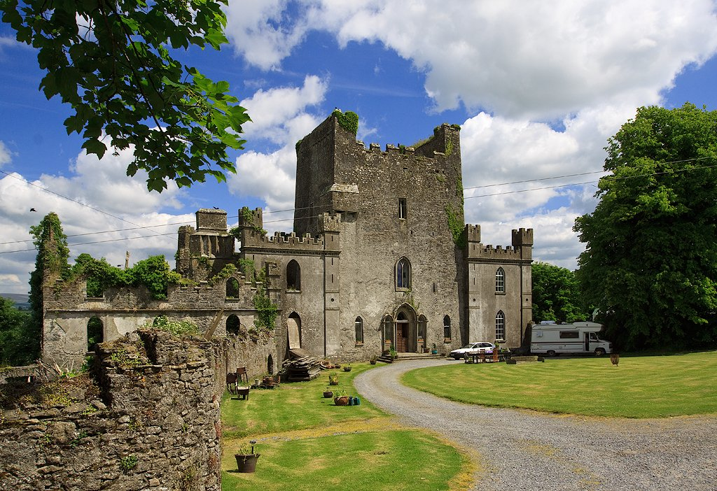 Leap Castle is one of the most haunted houses in the world.