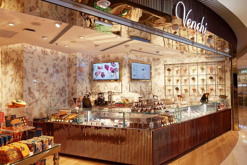 Venchi is a great gelato chain!